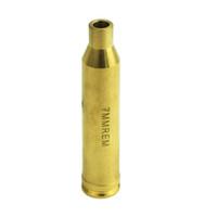 Wholesale Laser 7mm - Timberwolf Riflescope Laser Red Dot 7mm Brass Cartridge Bore Sight Sighter Gold