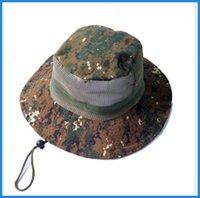 Wholesale Nepal Hats - Sunshade Cotton Twill Chin Cord Outdoor Cap climbing fishing Bucket Hat Ben Nepal Hat Amazon jungle camping sunscreen ouc0031 DHL
