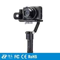 Wholesale Dslr Camera Cranes - Zhiyun Crane M 3 axis Handheld Stabilizer Gimbal for DSLR Cameras Support 650g Smartphone Gopro 3 Xiaoyi Action camera F19238