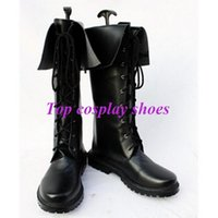 Wholesale Cosplay Uta Princes Sama - Wholesale-Freeshipping Uta no Prince-sama Tokiya Ichinose Black Cosplay Boots shoes custom-made for Halloween Christmas festival