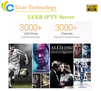 Wholesale Ucer IPTV Server Europe IPTV France UK Germany Spain Italy IPTV Channels for M3U Smart TV Android Enigma2 MAG Live VOD Channels