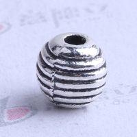 Wholesale Bronze Spacers - Mini streak oval Spacer bead charm 1000pcs lot 6*6mm antique silver bronze Zinc Alloy for DIY pendant Jewelry Making Accessories 2507