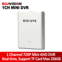Wholesale Hd Dvr Cctv Card - New Super Mini AHD DVR Recorder HD 720P Support SD Card 256GB Real time 25 30fps 1Ch CCTV DVR Board Video Compression Motion Detection