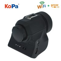 Wholesale Digital Eyepiece - 5.0MP USB WIFI CMOS Digital Electronic Eyepiece Camera with Adapter for Spotting Scope Microscope Astronomical Telescope