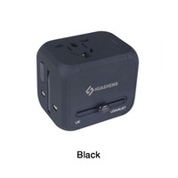 Wholesale Blackberry International Charger - HUASHENG Travel Adapter, International Travel Power Adapter with 2.4A Dual USB Charger & Worldwide AC Wall Outlet Plugs for UK, US, AU, Euro