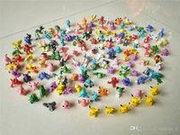 Wholesale Toy Garage Kits - 144 style Mini pikachu Plush Doll Toy 3 cm Pikachu Charmander Cyndaquil Dragonite Snorlax poke go GARAGE KIT Gift