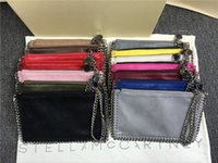 Wholesale Gold Envelopes - Women coin bags style European stella mccartney Fashion Chain Bag Mobile Phone Pocket Cluth purses