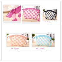 Wholesale New Beauty Business - New design promoting plastic women clear transparent pvc cosmetic bag, eco beauty women zipper cosmetic bag free shipping