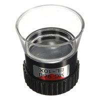 Wholesale Magnifier For Coins - Wholesale- Hot Sale Monocular 10X Magnifying Glass Loupe Lens Jeweler Eye Magnifier for Jewelry Watch Stamp Coin Watch Repair Tool