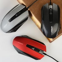 The New Desktop USB Cable Game Mouse Office Grind Arenaceous Feel è l'imballaggio per mouse ottico