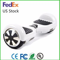 Wholesale Ma For Sale - US Warehouse hoverboard Smart Balance Wheel Self Balancing Scooters 2 Wheels With 4.4 mA Battery Fast Drop Shipping For Sale
