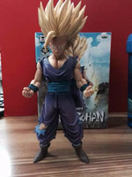 Wholesale Model Figure Scales - Dragon Ball Z Son Gohan Action Figure 1 8 Scale Painted Figure Special Color The Son Gohan PVC ACGN Figure Collectible Model Toy