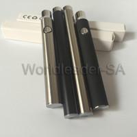 Wholesale E Cigarette Auto Battery - Pre heat 510 battery bud touch pen e cigarette battery 350mah 280mah auto manual mix2 battery bud touch mod pen