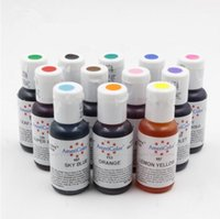 Wholesale AmeriColor Soft Gel Paste Food Color Food Coloring Fondant Cake Cookie Multi Colours Cake Tools Macaron Bakery Colors G
