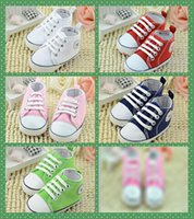 Wholesale Cheap Wholesale Canvas Shoes - 15% off 2016 cheap wholsale Kids Baby Sports Shoes Boy Girl First Walkers Sneakers Baby Infant Soft Bottom walker Shoes 5pairs 10pcs