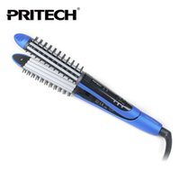 Wholesale Girl Hair Straightener - Fashion Pritech Brand 2 IN 1 Hair Curler Wave Curling Iron Hair Care Hair Styling Tools For Family Lady Girl Use Free Shipping