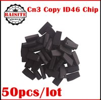 Wholesale Used Nissan Cars - Factory price!!Free dhl 50pcs lot auto car transponder CHIP CN3 copy ID46 (Used for CN900 or ND900 device) cn3 copy 46 CHIP