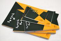 Wholesale B4 Paper - Wholesale- Maruman ZUAN Sketchbook 24 Sheets A4 B4 A3 B5 B6 Watercolor Paper Painting Book Japan 126.5gsm