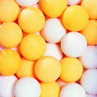 Wholesale Table Tennis Plastic Ball - 3000pcs Free Shipping EMS Table Tennis Balls white and orange two choose Free shipping