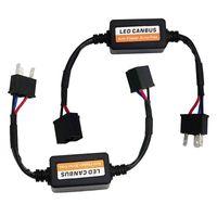 Wholesale Error Decoder Canceller - 2 pieces LED Canbus Decoder Error Free Anti Flicker Resistor Canceller For H4 Headlight KIits