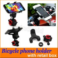 Wholesale Motorcycles For Cheap - 360 Degree Universal Bike Bicycle Handle Phone Mount Cradle Holder Cell Phone Support Case Motorcycle Handlebar For Cell Phone GPS cheap 300