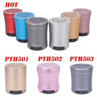 Wholesale Iphone Sound Systems - PTH501 502 503 Mini Bluetooth speaker Portable Wireless Loudspeaker Sound System for iphone samsung