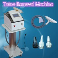 Wholesale Water Cooled Air - nd yag long pulse laser new laser for tattoo removal Pigmentation Treatment condenser cooling air cooling water cooling