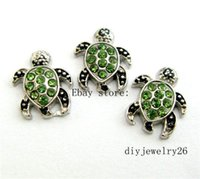 Wholesale Sea Turtle Charms Wholesale - 10pcs Sea turtle Floating charms For living memory Locket Free shipping FC631