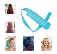 Wholesale Large Hair Curlers Rollers - The Sleep Styler Hair Roller 8 Pack Large 6 Inch Absorbent Heat Free Sleep Nighttime Styler Curlers Curl Your Hair Without Damaging it