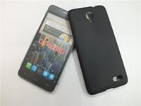 cubierta de goma trasera móvil al por mayor-Antideslizante Delgado Caso de TPU de Gel Suave Para Huawei Honor V10 Alcatel One Touch Idol OT-6030D Teléfono móvil de silicona de silicona contraportada