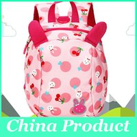 Wholesale Fashion Baby School Backpacks The Toddler Boys Girls Cartoon Bear Backpacks Mom Prevent Lost Bags