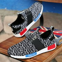 Wholesale Men Hoes - Fashion Athletic Outdoor Sneakers Men Nubuck Leather Casual Running hoes Canvas Breathable Walking Lovers Couple Shoes 39-44 No Logo