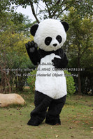 Wholesale Material Object Shooting Panda mascot costume clothing