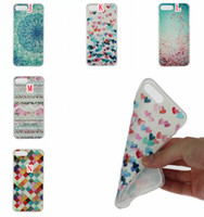 Wholesale Towel Cake Love - For Samsung Galaxy A3 A5 2017 Iphone 7 Plus I7 Iphone7 Cartoon TPU Soft Case Silicone Flower Dandelion Cat Love Diamond Cake Towel Cover