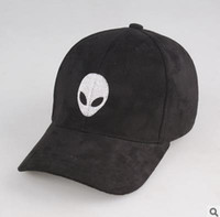 Ball Cap space saucer - Hot sales aliens Outstar saucer Space E T UFO fans black fabric baseball caps hat for kid children teenage adult men women