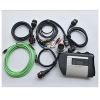 mercedes multiplexer großhandel-Hohe Qualität MB Star Diagnose SD Connect SD C4 Multiplexer mit Kabel für Mercedes Benz Diagnostic Tool