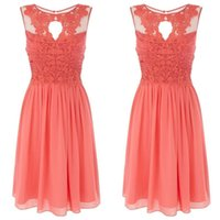 Discount discount-discount - Elegant lace pearl pink bridesmaid dresses of brief paragraph 2016 of the latest lover's neck a cheap PROM party dress plus size order
