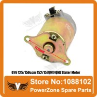 Wholesale Electric Scooter Carts - GY6 125 150ccm 152 157QMI QMJ Engine Electric Stater Motor Fit Scooter Motorcycles ATV Go-Cart Spare Parts Free Shipping