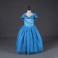 Wholesale children layer gowns - Top quality baby girls tutu skirts 6 layers tired girl cosplay clothes children Carnival dress up kids Cinderella dresses with butterfly