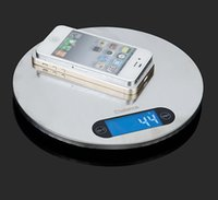 Wholesale Package Weight Scale - 5KG1g LCD Digital Electronic Scales Stainless Steel Super Thin Touch Key Kitchen Scale Weight Weighting With Retail package