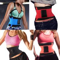 Wholesale Fat Burn Belt - Wholesale-Neoprene Sports Miss Belt Waist Trainer Burn Fat Loss Weight Girdle For Women Body Shaper Postpartum faja reductora cinturilla