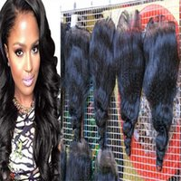 Wholesale Cheap Real Human Hair Weave - Real human Unprocessed 7A Grade 7A Peruvian Loose Wave Hair tip quality Hair Weaving Cheap human Peruvian Loose Wave Hair