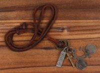 Wholesale Multi Pendants Necklace - Cool Rock Punk Bike Multi Pendants Men Woman Pendant Genuine Leather Chain Necklace chain tassel necklace