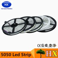 Rayures Led Rgb Imperméables Pas Cher-24V IP65 Waterproof LED Strip 5050 300led Eclairage flexible Bande lumineuse Ruban Led Ruban Luces Blanc chaud Blanc Cool RGB