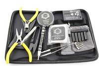 Wholesale Designer Electronic Cigarettes - Ecig Hardware LTQ Kit Bag DIY Vapor Kit Bag RBA Coil Designer For Electronic Cigarettes RDA RBA Vaporizer DHL free