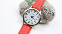 Wholesale Simple Bracelet Leather - Geneva bracelet watch new hot style ladies watch new speed sell through foreign trade on simple handsome watch