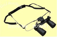 Wholesale Dental Medical Binocular Loupes - 3X 420mm Medical Surgical Loupes Microsurgery Binocular Dental Loupe ENT Operation Instrument Repair HD Glasses Type Magnifiers