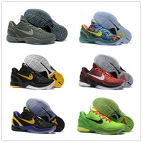 Wholesale Cotton Road Shoes - 2016 Hot Sale Kobe 6 What the Road Master Weaving 11 Mens Basketball Shoes Top quality Training Sports Sneakers 40-46
