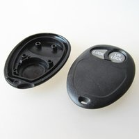 Wholesale Gm Fob Cover - New car key case for GMC 2 button remote key shell FOB cover GM key blank free shipping