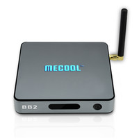 Mecool BB2 S912 Octa core Smart TV Box Android 7.1 caixas 2GB 16GB Dual Wifi KD17.1 Totalmente carregado 4K Video Miracast Streaming Media Player
